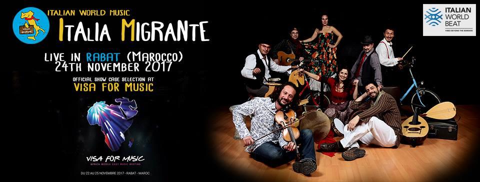 italia migrante visa for music 2017