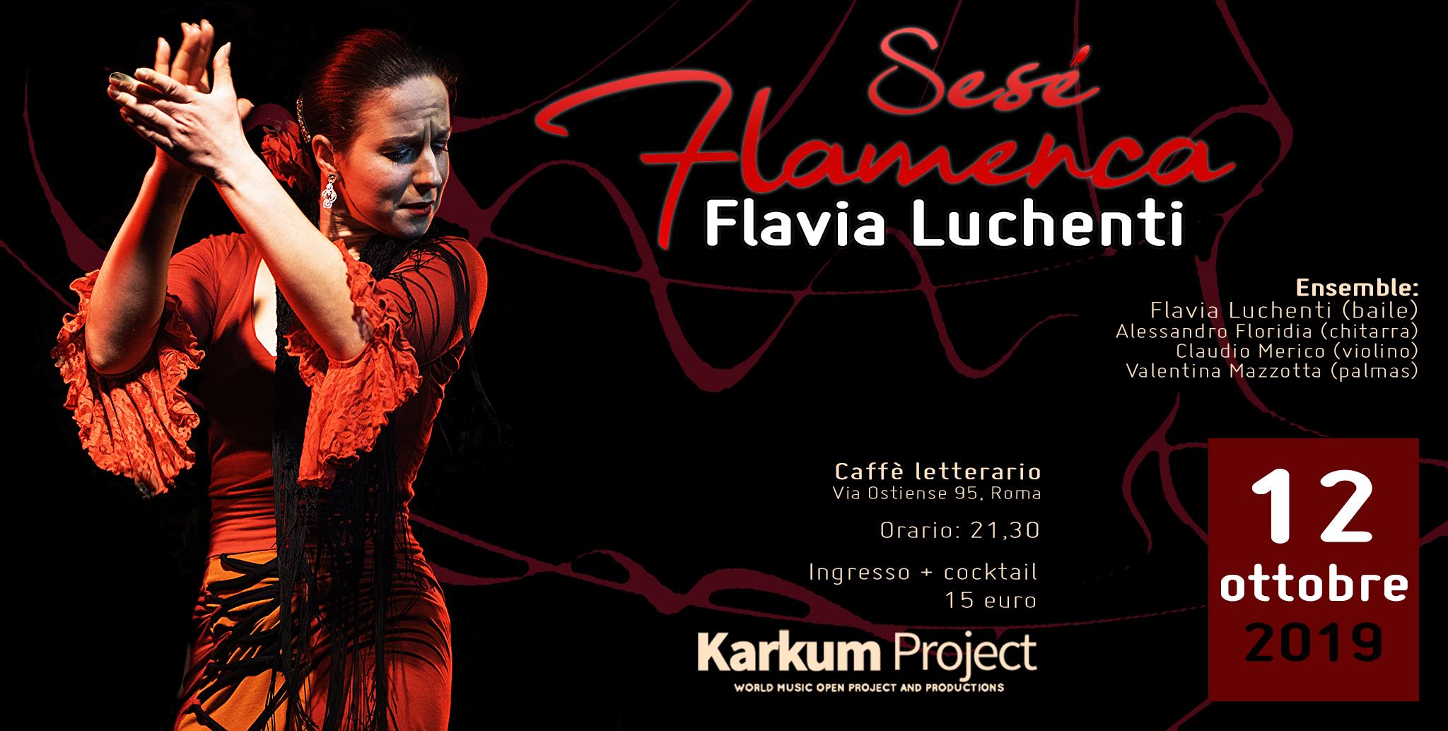 flavia luchenti caffe letterario roma