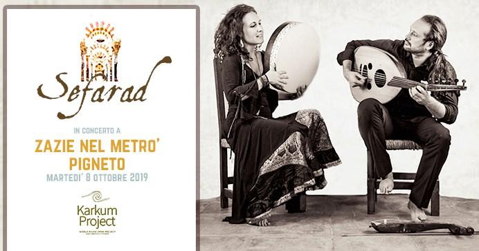 sefarad concerto roma zazie nel metrò pigneto