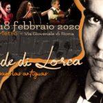 Le strade di Lorca canciones espanolas antiguas @ Zazie nel Metrò